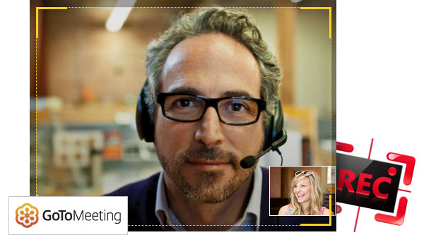 Gravar reunião GoToMeeting Android Screen Recorder
