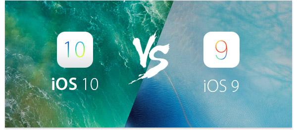 Diferenças iOS9 e iOS10