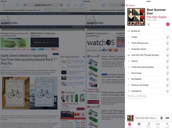 Pantalla dividida iOS 10 FoneLab