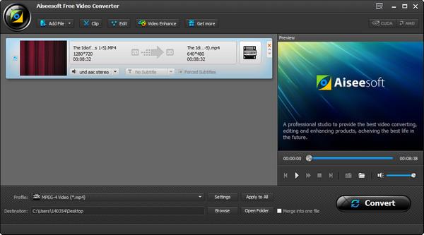Paso 2 Programa editar MP3 Video Converter