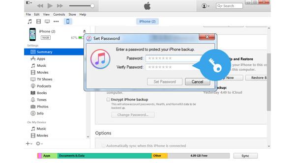 Recuperar contraseña copia de seguridad iPhone