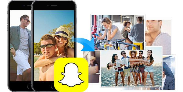 Recuperar fotos Snapchat  FoneLab