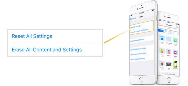 Resetear iPhone FoneEraser