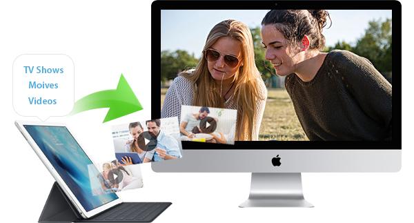 Transferir vídeos iPad para Mac FoneTrans Mac
