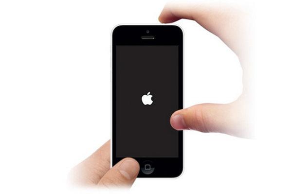 iPhone ainda congelado hard reset