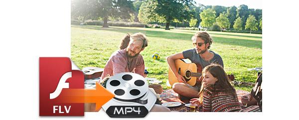 Convertir videos de FLV a MP4