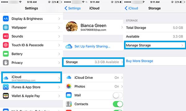 Excluir fotos iPhone iOS8 Situação2