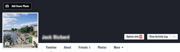 Limpar histórico Facebook navegador Passo 1