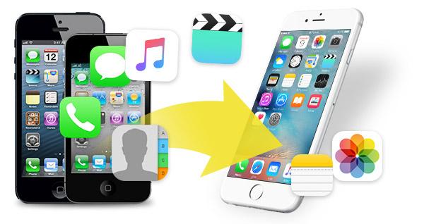 Pasar archivos para nuevo iPhone