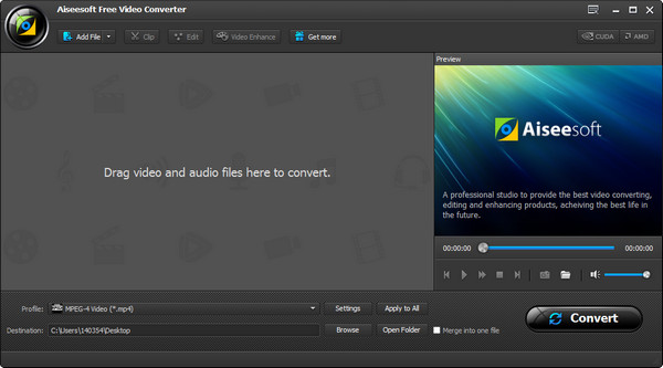 Paso 1 Convertir videos WMV a MP4 Kindle Fire