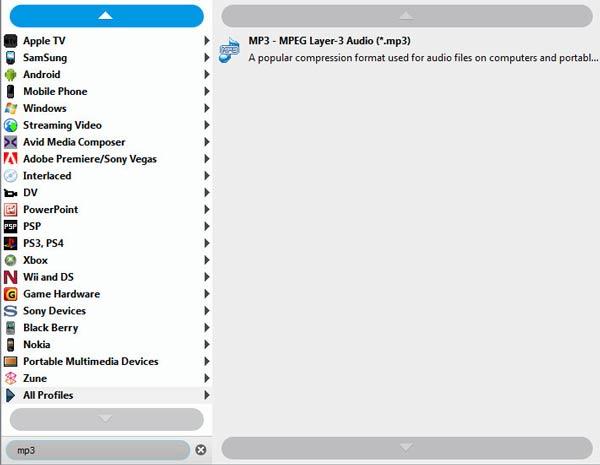 Passo 3 Converter áudios WAV para MP3