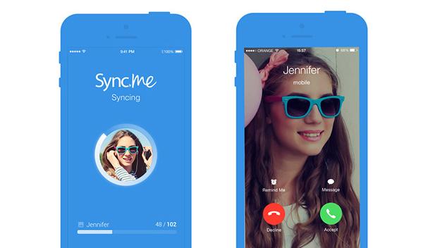 Sync.ME sincronizar contatos iPhone