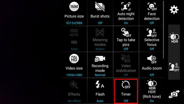 Definir temporizador Android paso 1