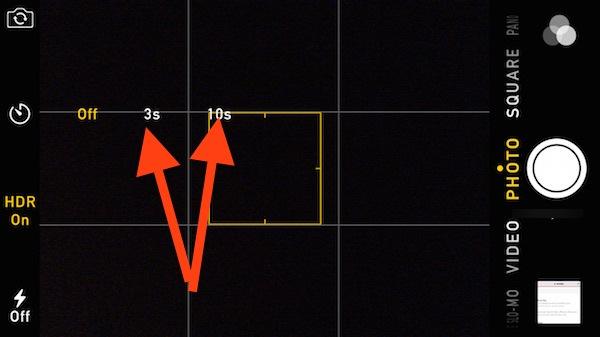 Definir temporizador iPhone paso 2