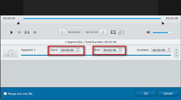 Passo 2 combinando áudios Video Converter Ultimate