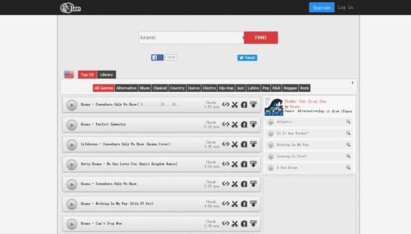 Sitios descargar canciones MP3Clan