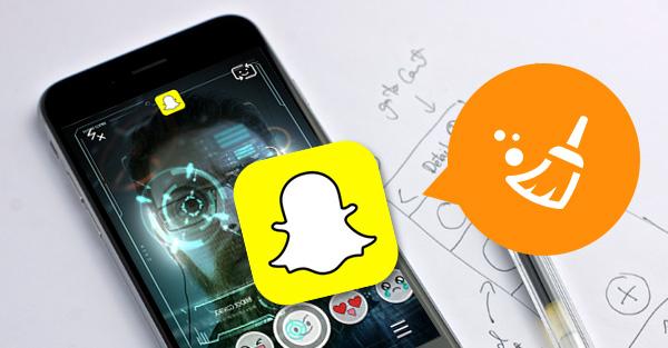 cómo limpiar historial de snapchat