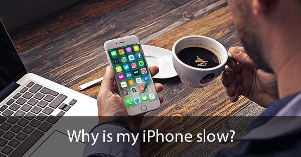 por qué mi iphone está lento