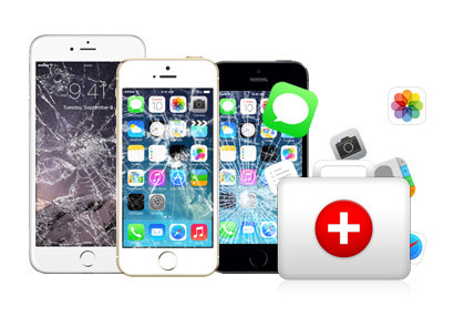 rescue the lost data from your broken iphone