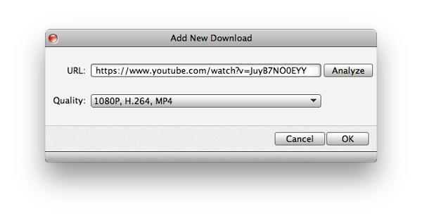Iniciar la descarga del video que desee
