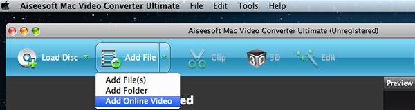 Hacer clic en Adicionar video Online