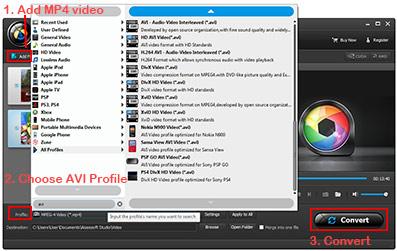 Seguir los pasos para convertir su video fácilmente