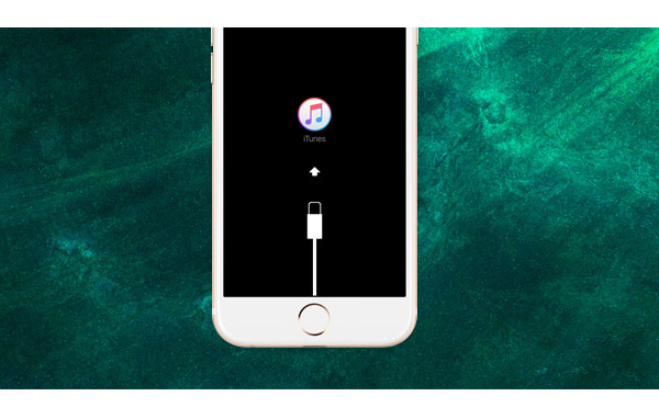 iPhone bloqueado en modo de recuperación