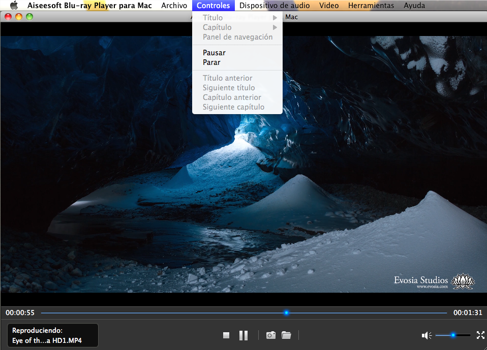Blu-ray Player para Mac tutorial