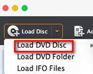Abrir su DVD en el programa