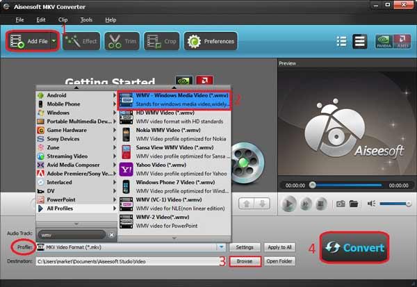 Convertir su video es fácil con el Video Converter Ultimate