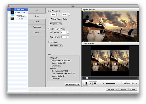 Personalizar su archivo antes de convertir