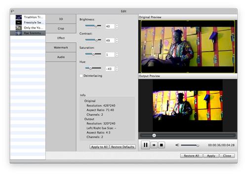 Editar su video como desee