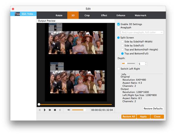 Personalizar su video con las opciones de edición