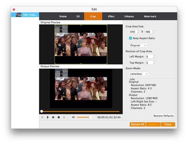 Recortar su video y ajustar sus efectos