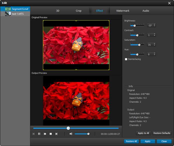 Desentrelazar y editar su video como desee