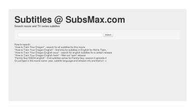 Subsmax