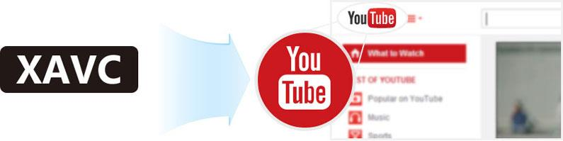 Enviar archivos XAVC para el Youtube