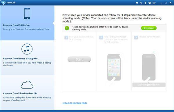 Entrar en el modo de análisis de su iPhone