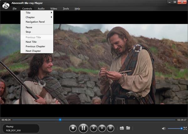 Ajustar las configuraciones de su video en el reproductor de blu-ray,