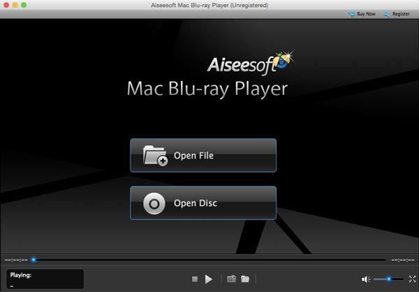 Instalar y abrir el Blu-ray Player