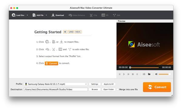 Abrir el Video Converter Ultimate para Mac