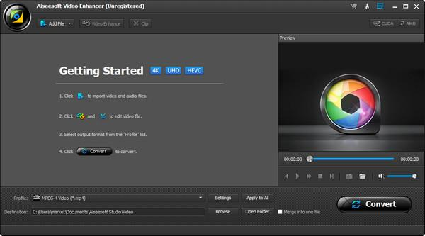 Programa para optimizar la calidad del video