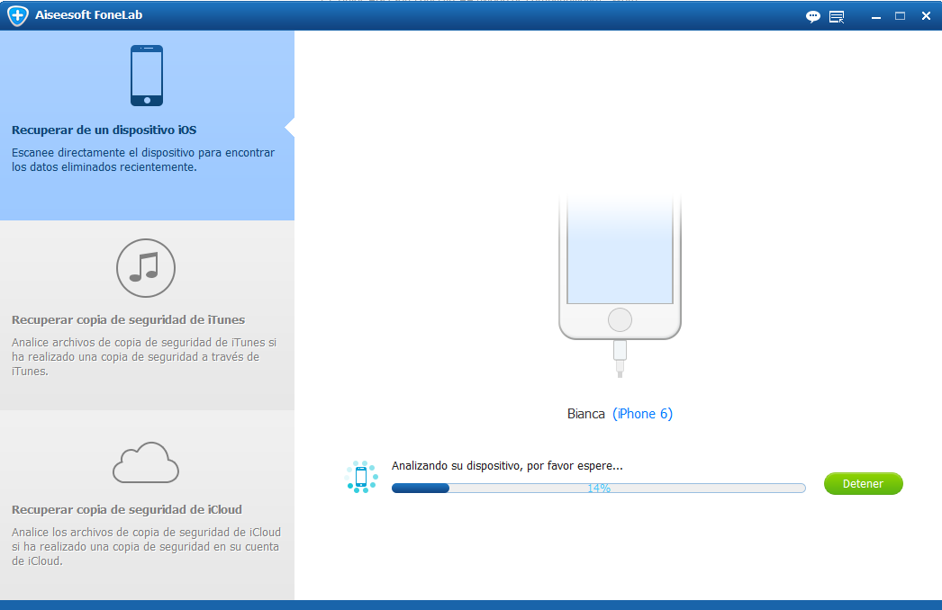 Conectar su iPhone al PC