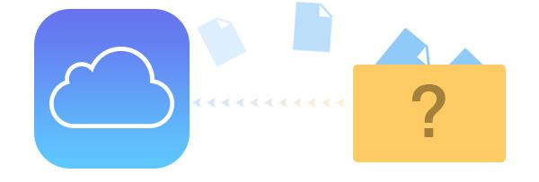 ¿Qué es incluido en la copia de seguridad del iCloud?