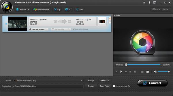 Importar sus videos en M4V