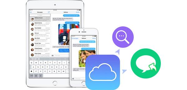 Visualizar mensajes del iCloud