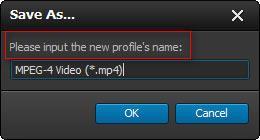 Inserte un nombre para su perfil