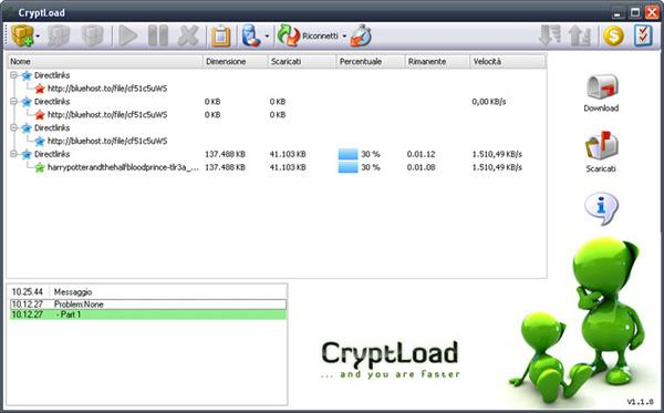 download video with CryptLoad