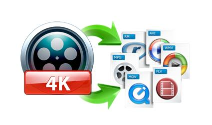 Convertir videos en 4K
