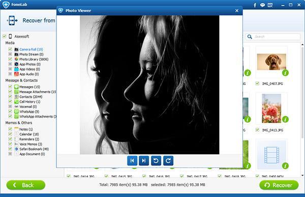 Visualizar sus fotos del iCloud